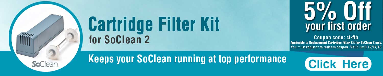 SoClean Cartridge Filter Kit - RespiratoryCareStore.com