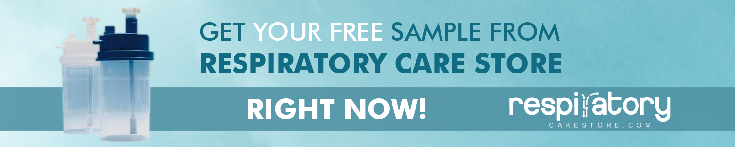Get your free sample from Respiratory Care Store right now!